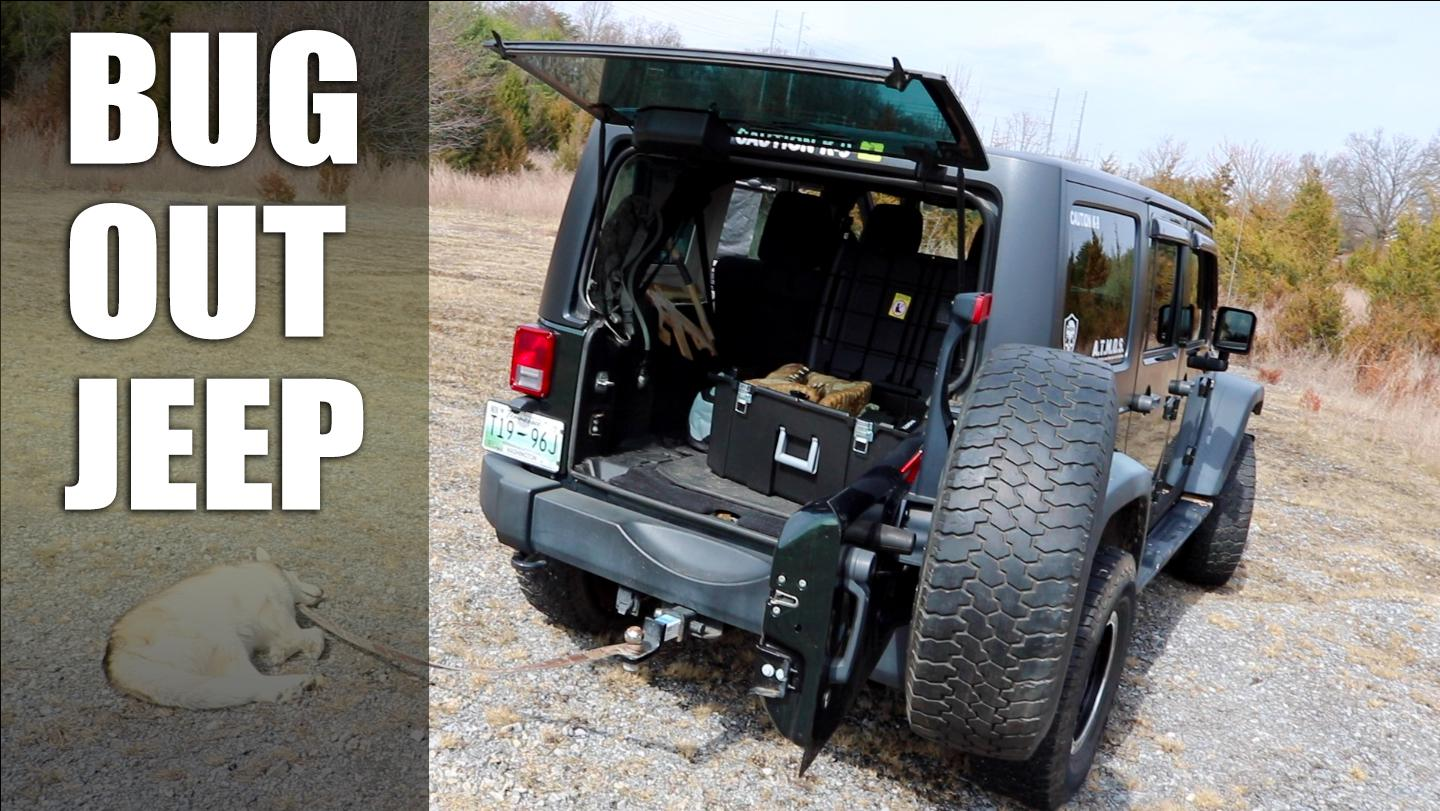Bug Out Jeep Progress Report Trunk Gear Amp Storage Tips