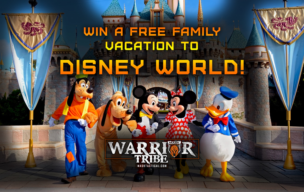 Win A Disney Vacation For A Family of 4! - MASK Tactical