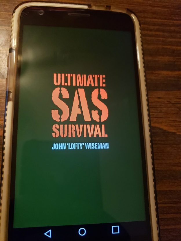 Cell Phone As a Survival Tool