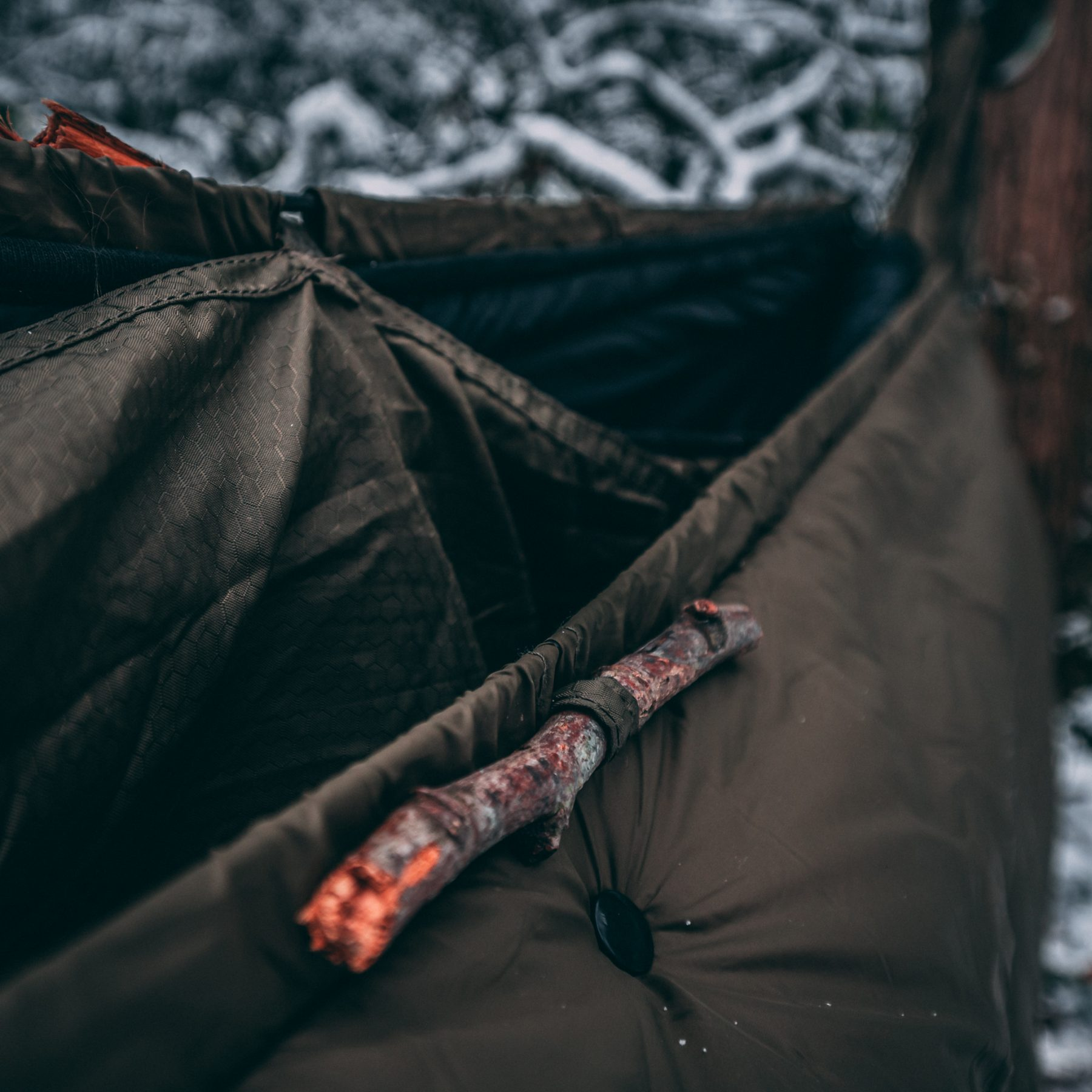 Winter Camping – OneWind Hammock & Underquilt Setup & Review