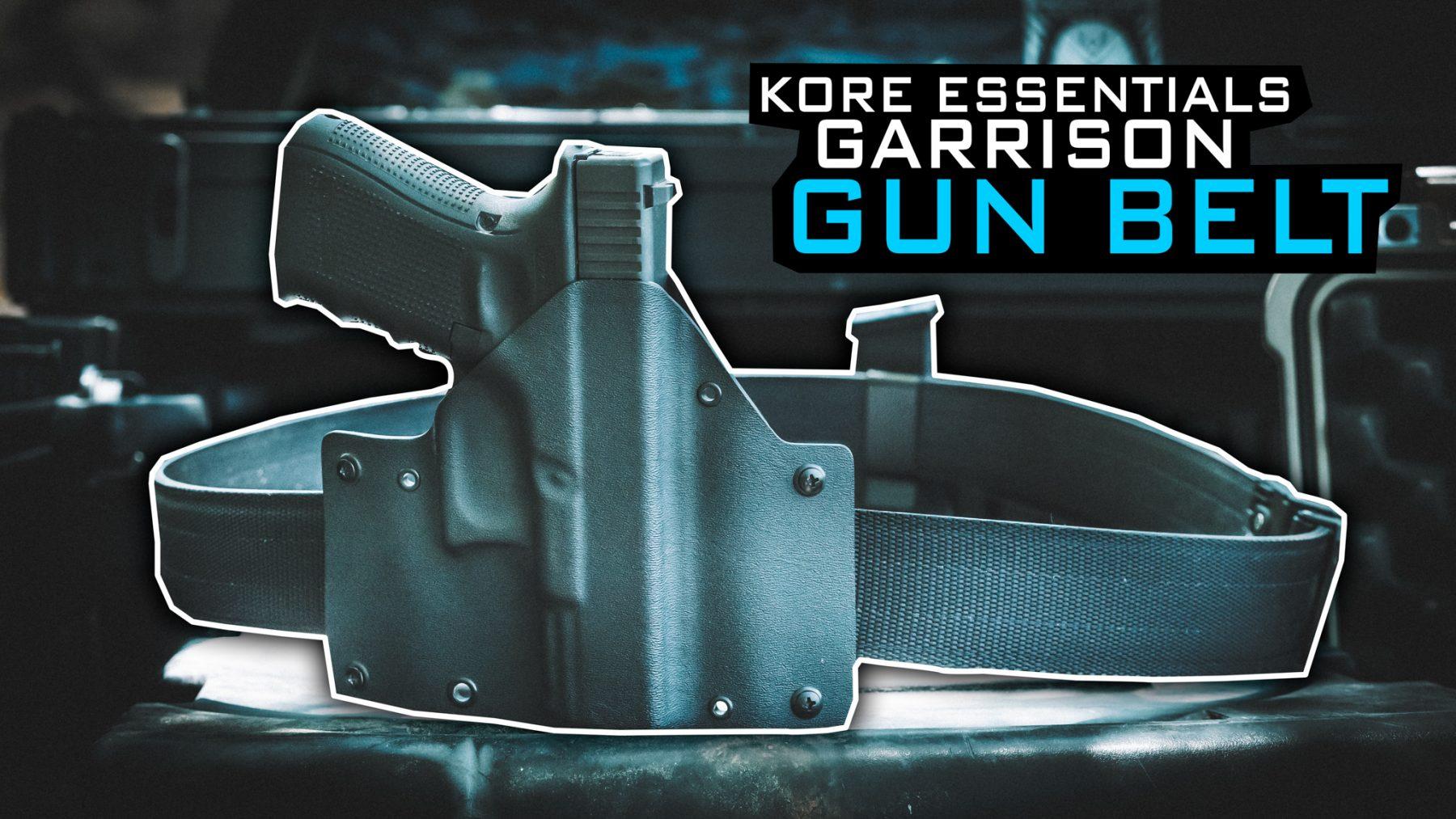 Pew Pew Review Kore Essentials Garrison Gun Belt Edc Ultimate edc belt | by kore essentials™. kore essentials garrison gun belt