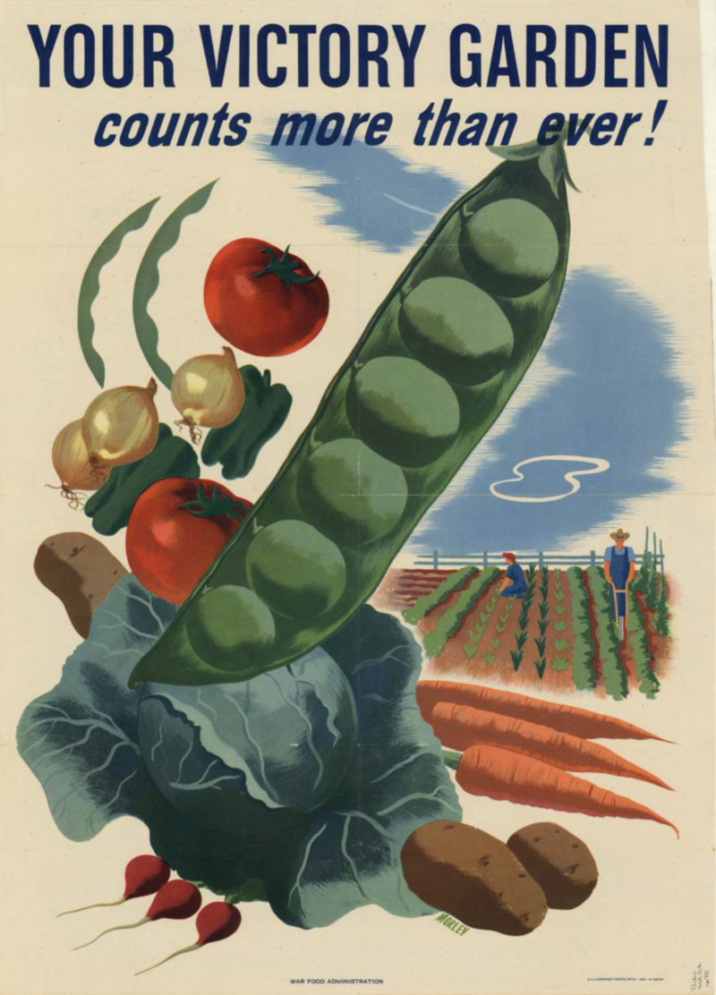 Your Victory Garden counts